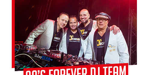 '90s FOREVER DRIVE-IN SHOW / DJ TEAM